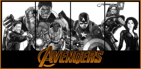 THE AVENGERS (version2)