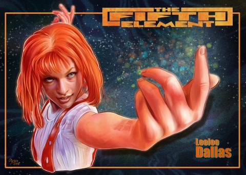 Leeloo Dallas The Fifth Element