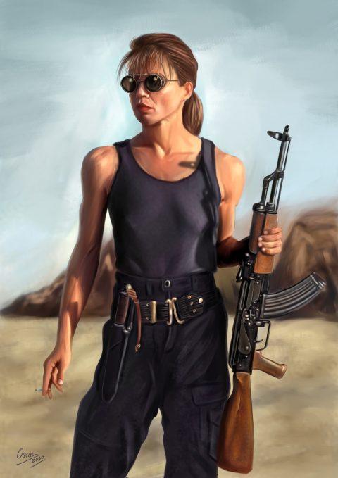 Sarah Connor Terminator II