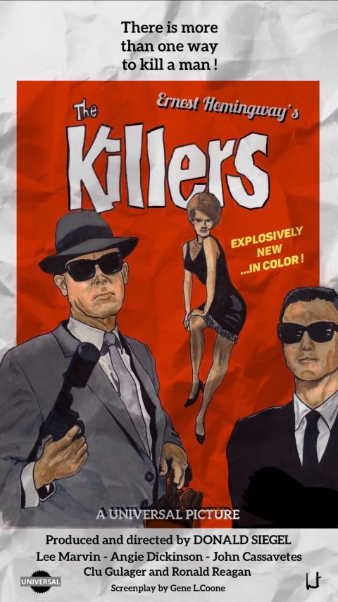 """""""The Killers"""" vintage 1964 poster – Final cut"""