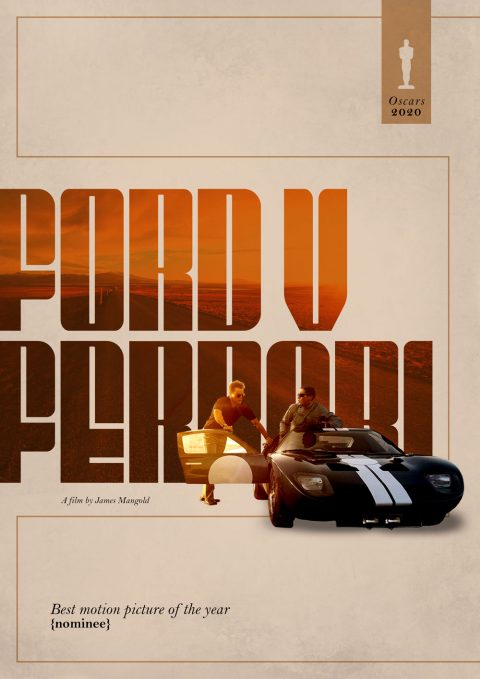 Oscars 2020 Best Picture Nominee – Ford v Ferrari