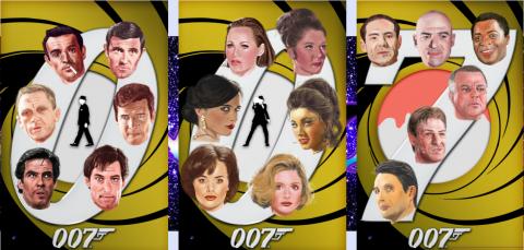 Bond Triptych