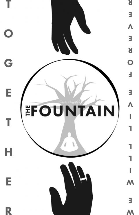 The Fountain B&W