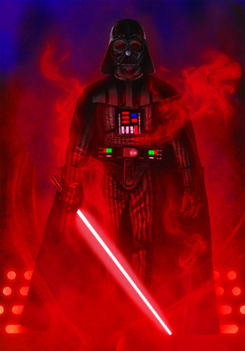 Darth Vader Empire Poster