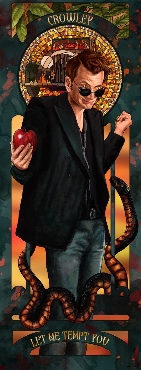 Crowley Good Omens