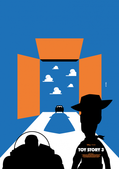 TOY STORY 3 Minimalist Poster