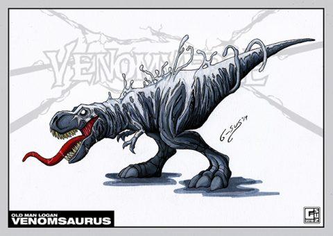 G-SUS ART VENOMSAURUS ART PRINT