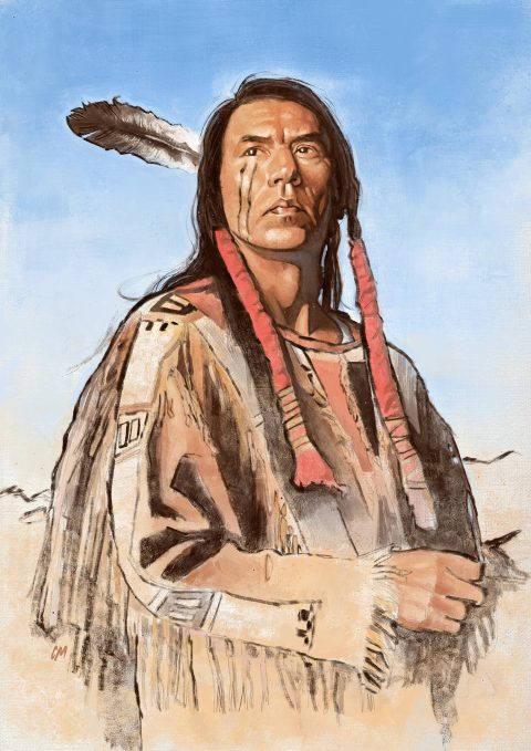 Portrait of Wes Studi