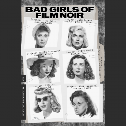 Bad Girls of Film Noir