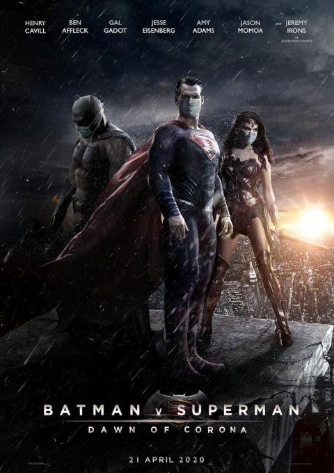 Batman V Superman: dawn of corona