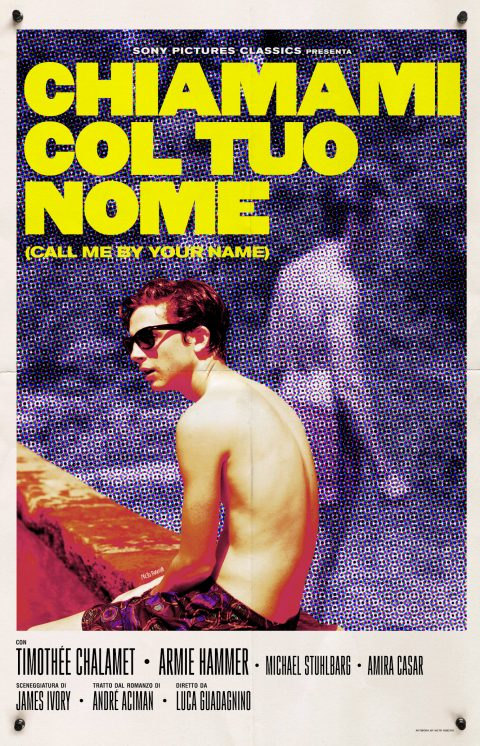 Call Me By Your Name (2017) – Poster