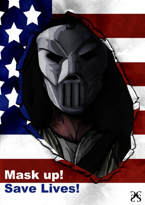 Casey Jones Mask Up