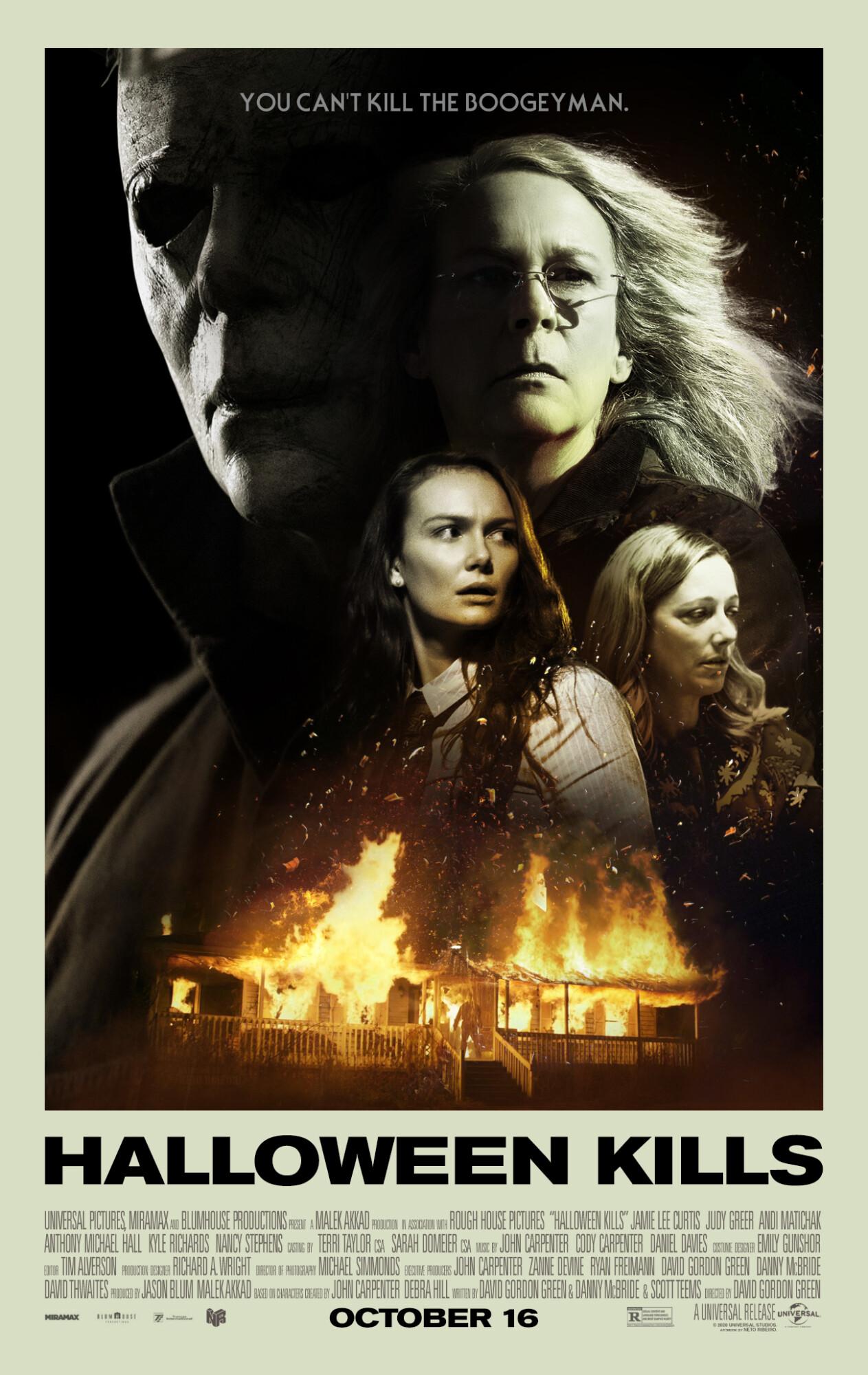 Images Of Halloween 2020 Poster Halloween Kills (2020)   Poster   PosterSpy