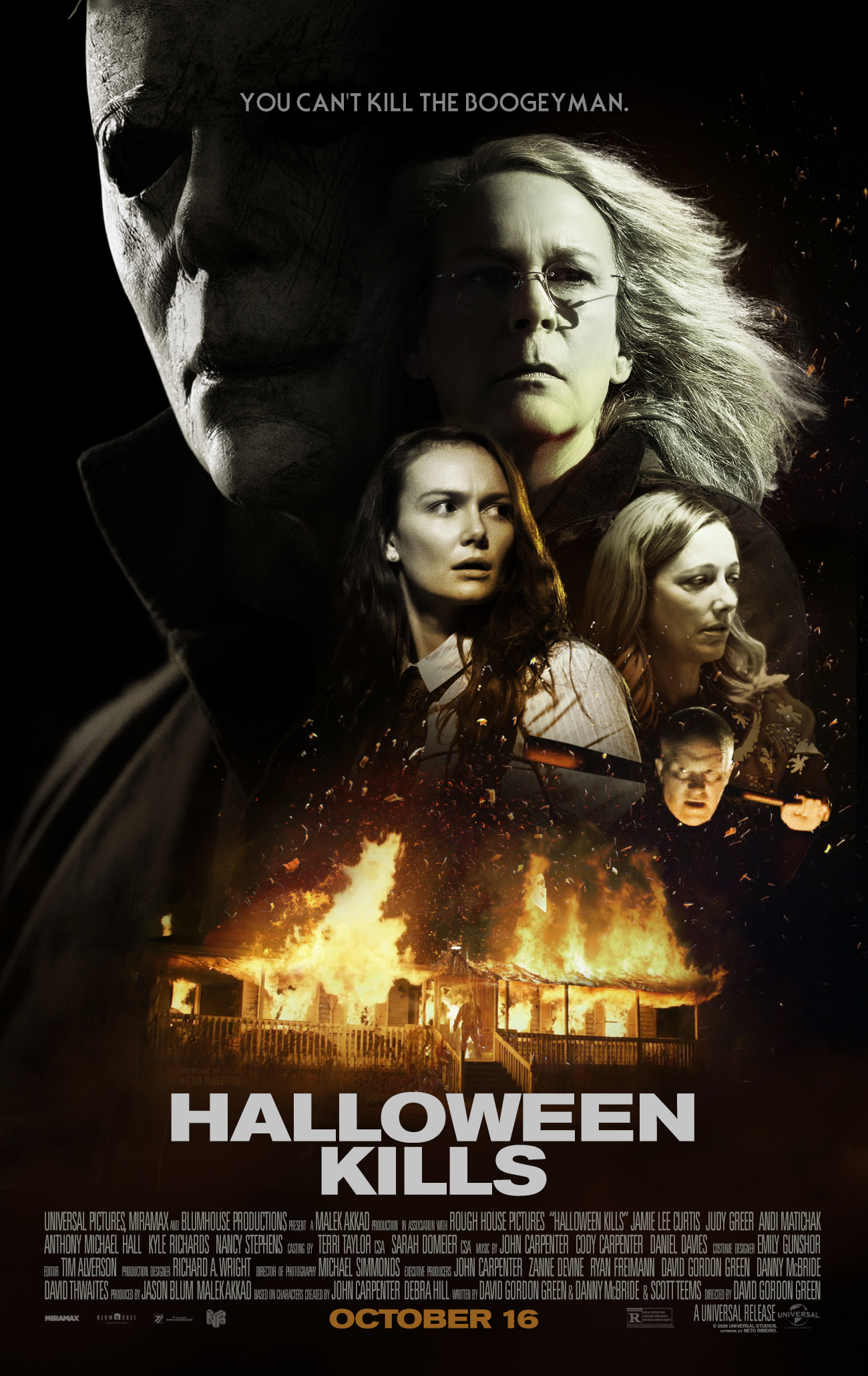 Halloween 2020 Alternate Halloween Kills (2020) – [Alternate] Poster   PosterSpy