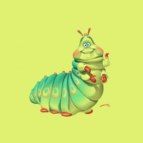 Heimlich from A Bug's Life