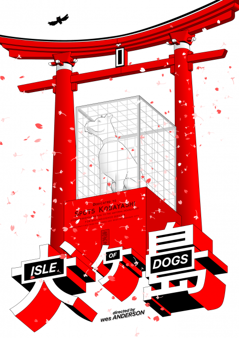 Isle of Dogs – white version
