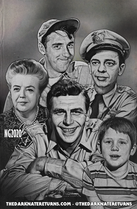 The Andy Griffith Show – A Mayberry Family Portrait