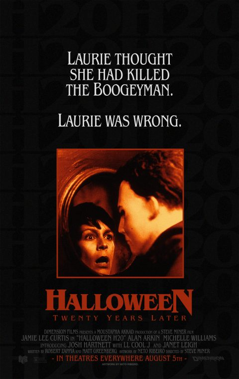 Halloween H20: 20 Years Later (1998) – Alternative Poster