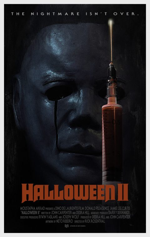 Halloween II (1981) – Alternative Poster