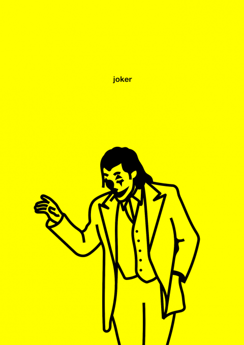 Yellow – Minimal posters