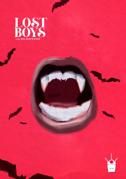 Alternative poster for Lost Boys