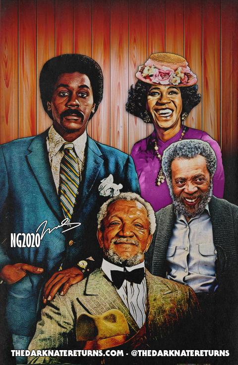 Sanford & Son Family Portrait