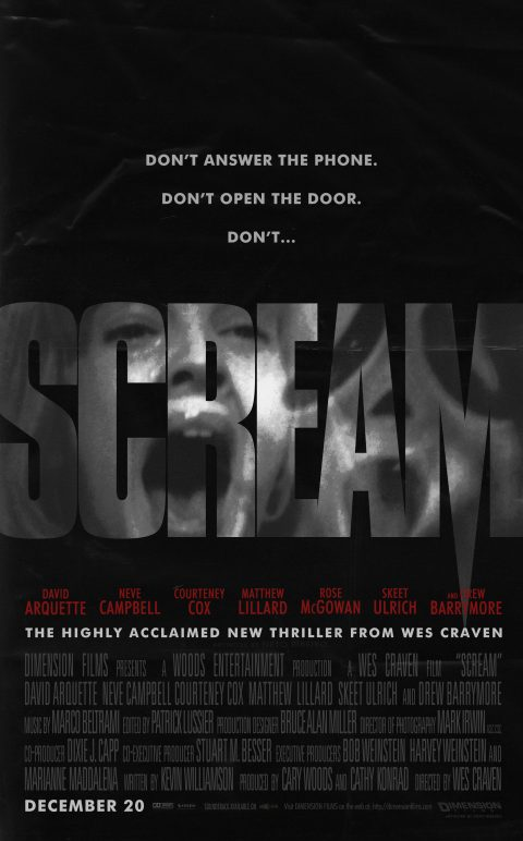Scream (1996) – Alternative Poster