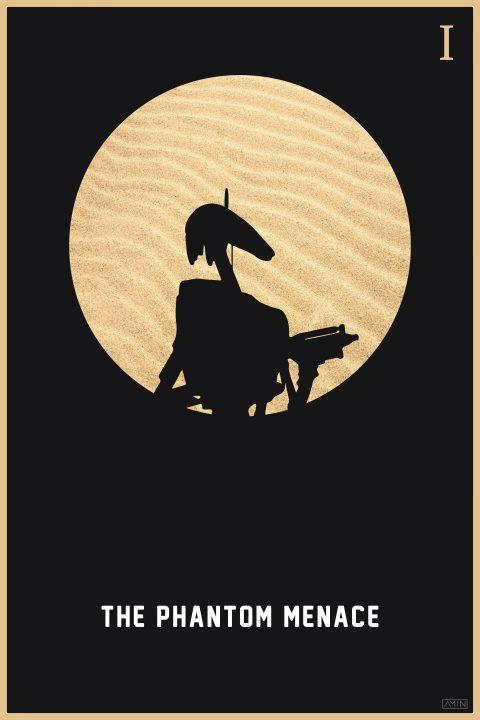Star Wars: Minimalist Poster Series – Episode I