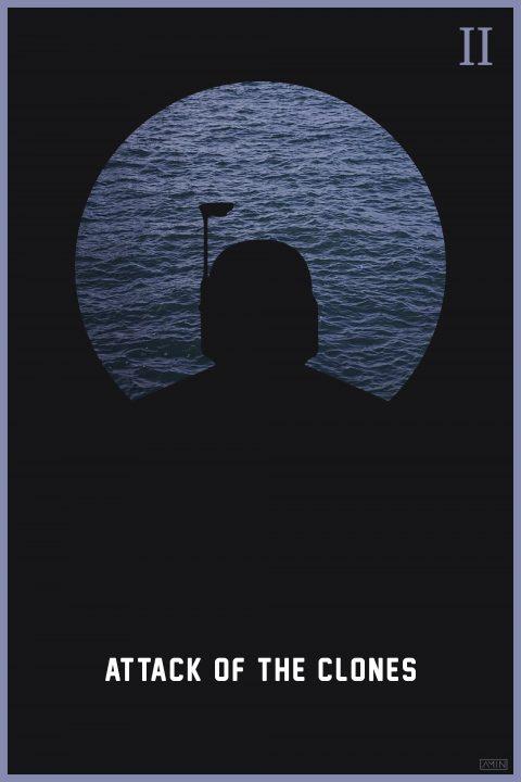 Star Wars: Minimalist Poster Series – Episode II