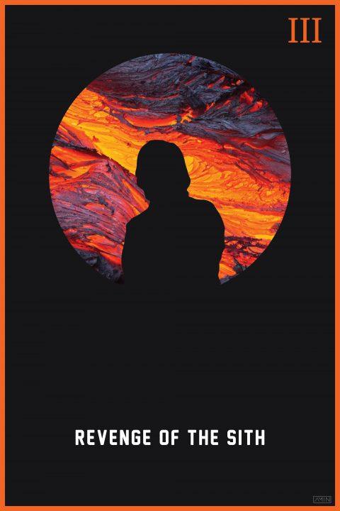 Star Wars: Minimalist Poster Series – Episode III