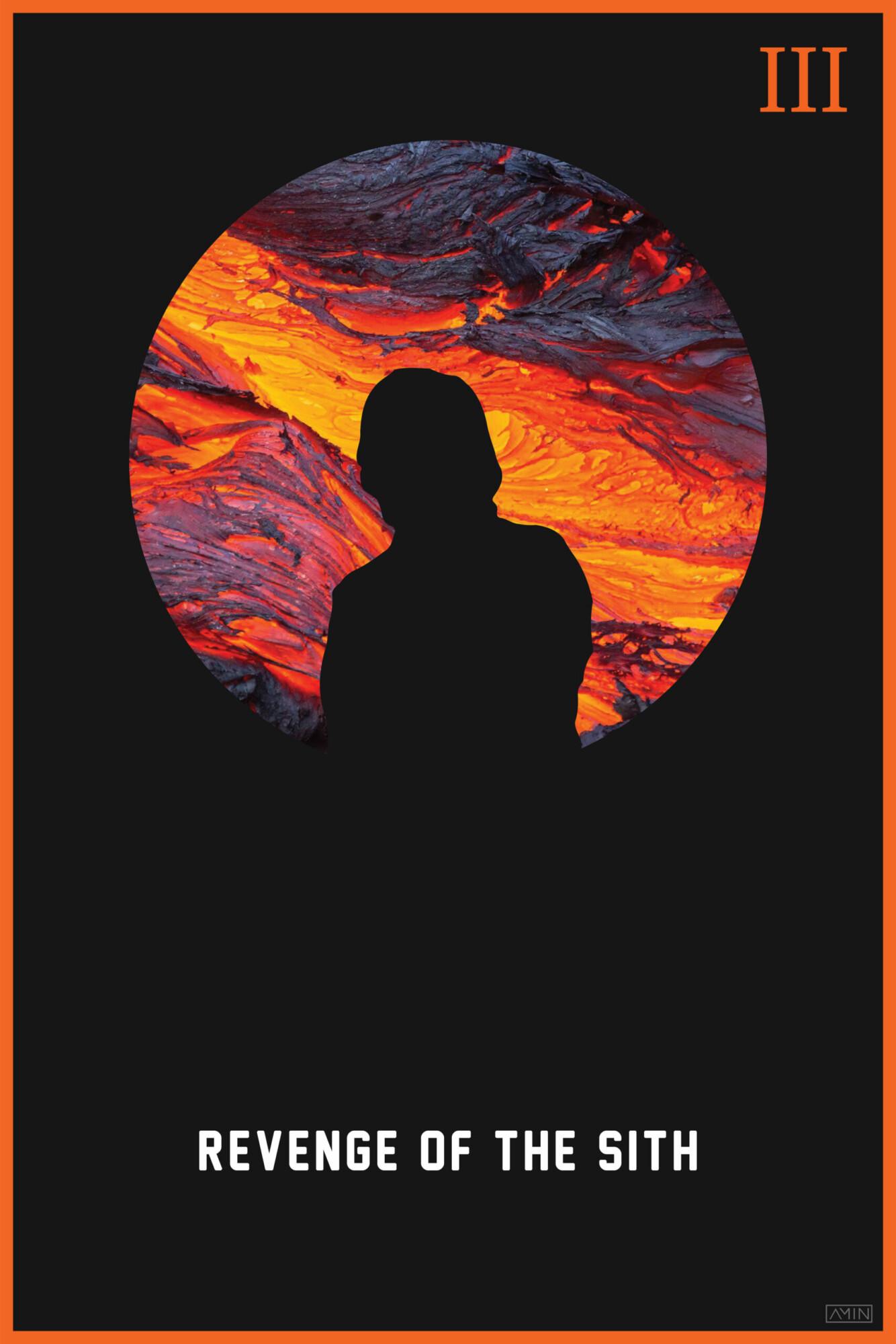 Star Wars Minimalist Poster Series Episode Iii Posterspy