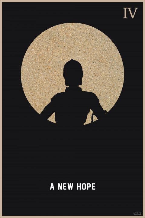Star Wars: Minimalist Poster Series – Episode IV