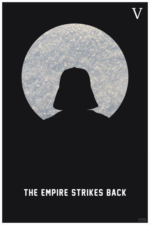 Star Wars: Minimalist Poster Series – Episode V