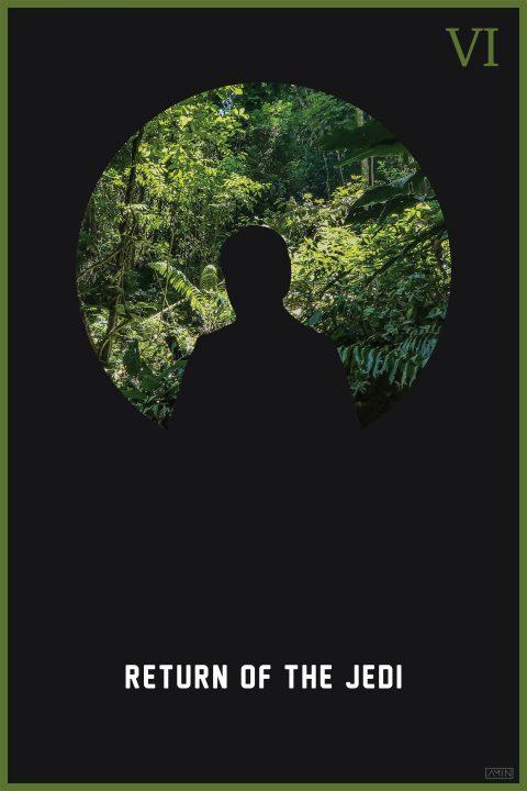 Star Wars: Minimalist Poster Series – Episode VI