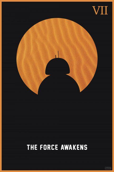 Star Wars: Minimalist Poster Series – Episode VII