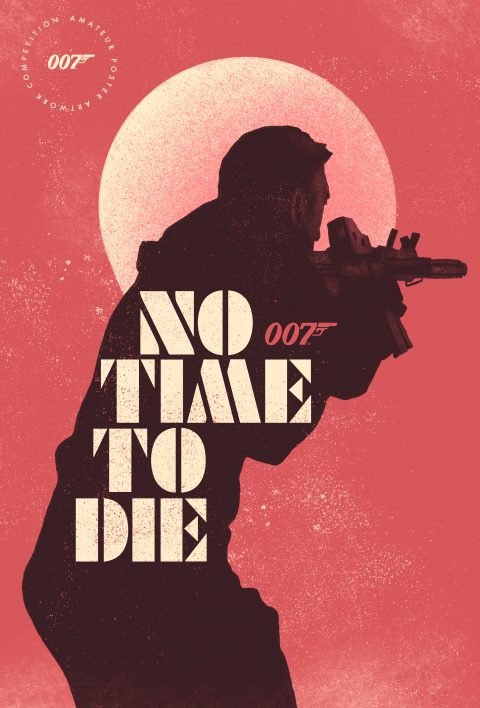 James Bond – No Time to Die – Gritty Poster