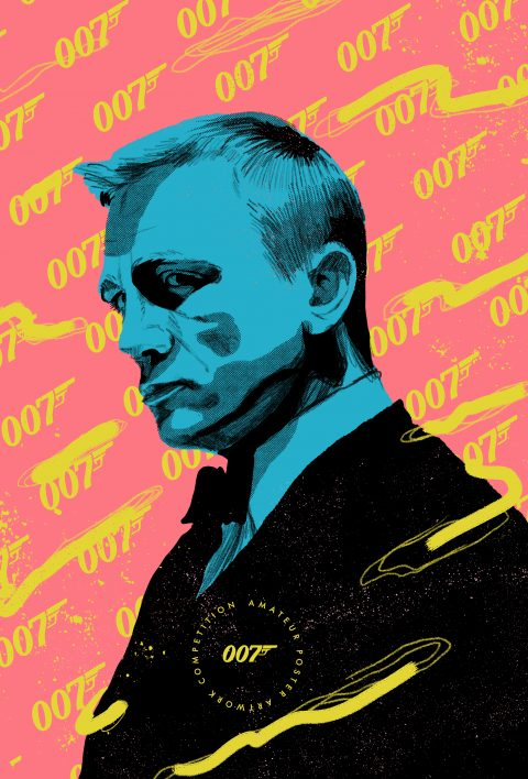 James Bond – No Time to Die – Pop Art Poster