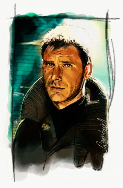 Harrison Ford – Blade Runner