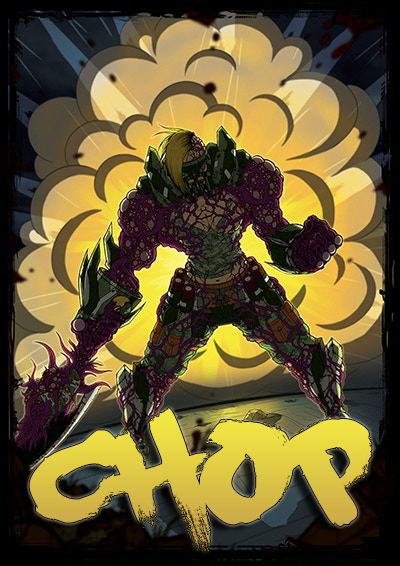 CHOP – Gory Fighting Game – Poster 2