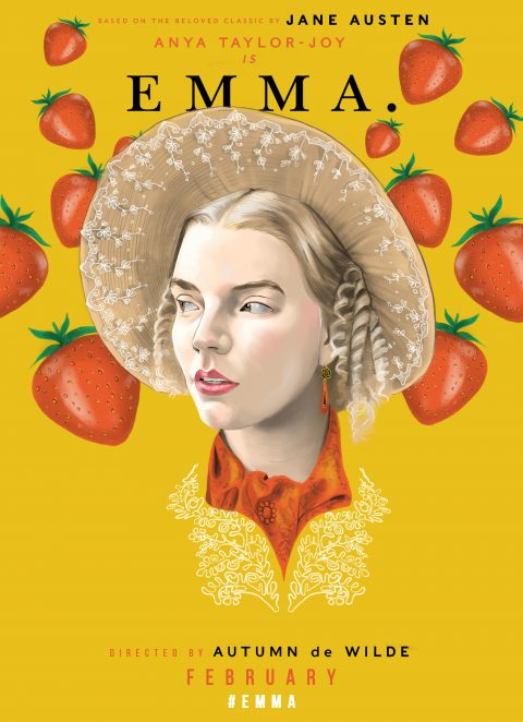 Emma – Illustrated Poster