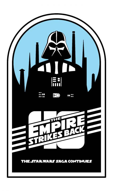 The Empire Strikes Back 40th anniversary poster