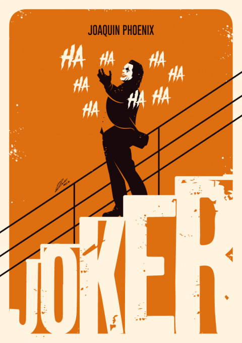 JOKER (Warner Bros. France) Poster Art