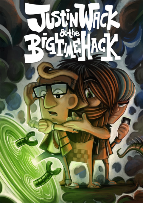 Justin Wack and the Big Time Hack – Poster 2
