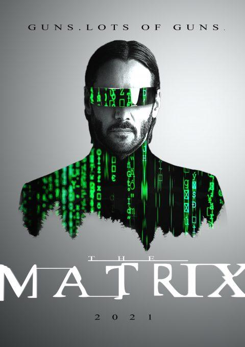 Matrix 4 / Reboot poster concept