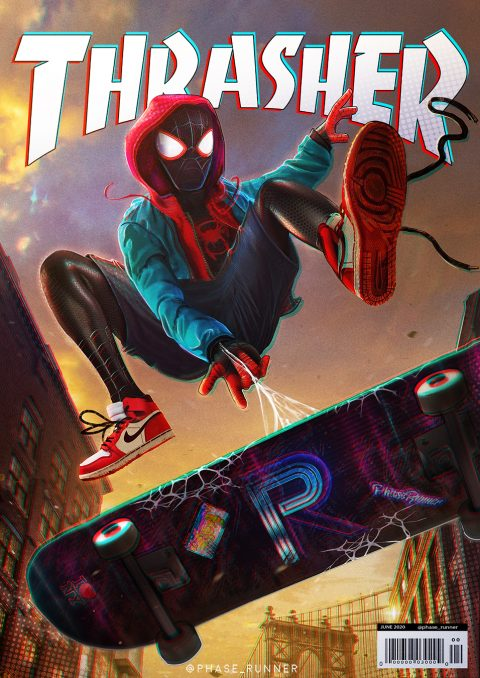 Miles Morales VS Thrasher