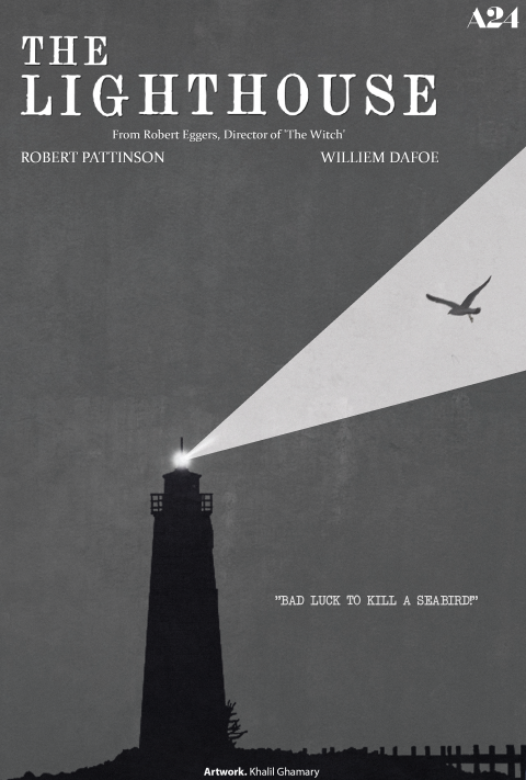 The Lighthouse – Minimalist Movie Poster