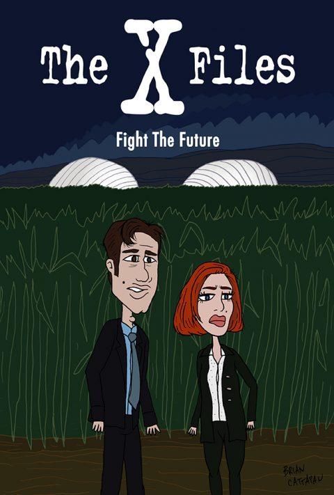 The X Files    Fight The Future