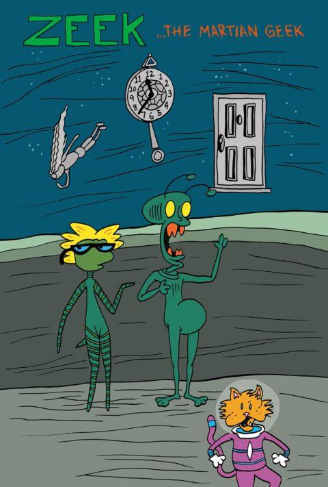 ZEEK … The Martian Geek