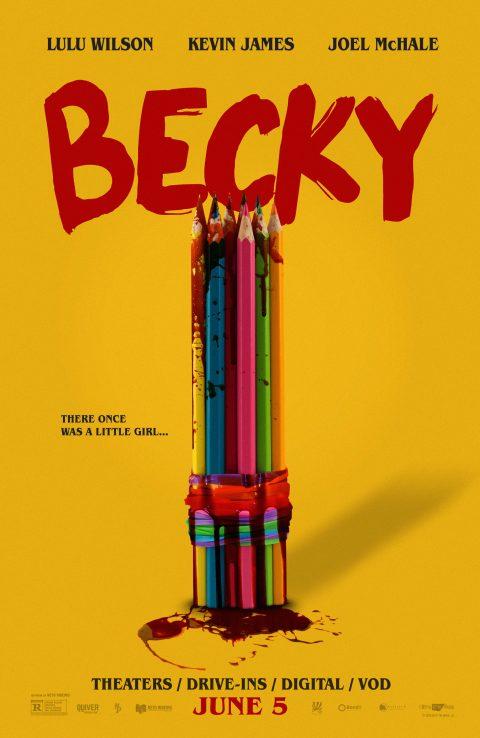 Becky (2020) – Alternative poster