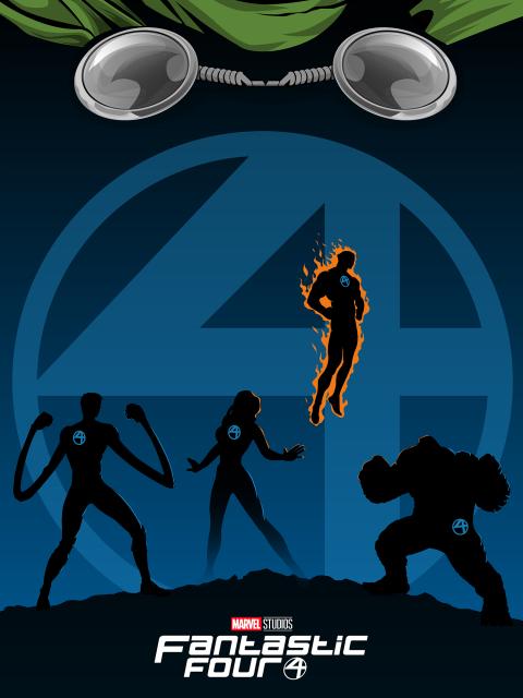 Fantastic Four MCU Poster